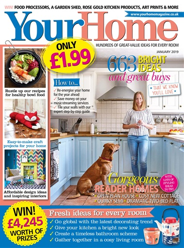 Your Home Magazine January 2019 Subscriptions Pocketmags