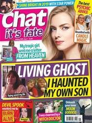 Chat Its Fate Magazine Cover