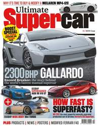 Ultimate Supercar Magazine Cover