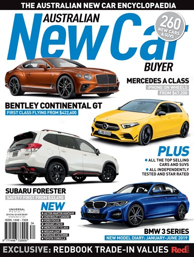 Australian New Car Buyer Magazine Dec Issue 52 2018 Subscriptions