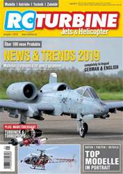 RC Turbine - Jets & Helicopter Magazine Cover