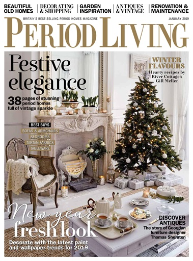 Period Living Magazine Preview