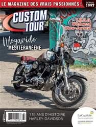 Custom Tour Magazine Cover