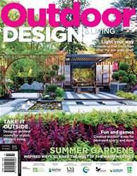 Outdoor Design & Living Magazine Cover