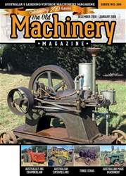 The Old Machinery Magazine Magazine Cover