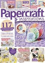 Papercraft Inspirations Magazine Cover