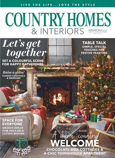 Title Cover Preview Country Homes U0026 Interiors Preview