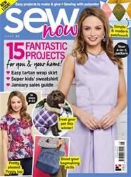 Sew Now Magazine Cover