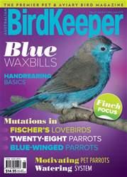 Australian Birdkeeper Magazine Magazine Cover