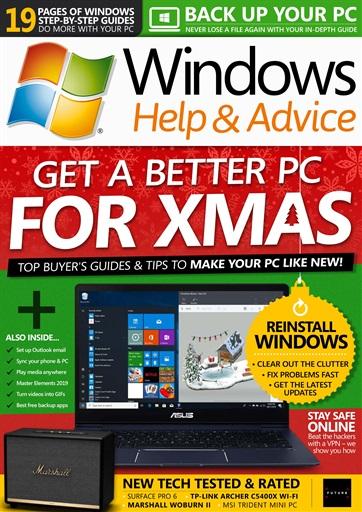 Windows Help & Advice Preview
