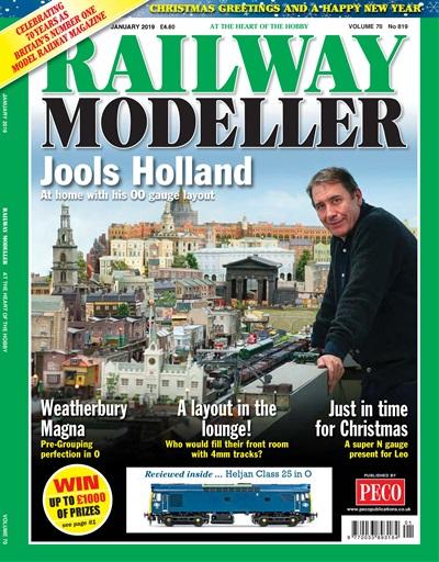railway modeller magazine railway modeller january 2019