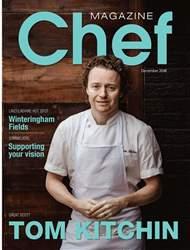Chef Magazine Magazine Cover