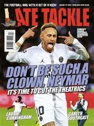 Late Tackle Football Magazine Magazine Cover