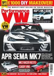 Performance VW Magazine Cover