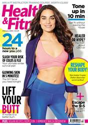 Health & Fitness Magazine Cover