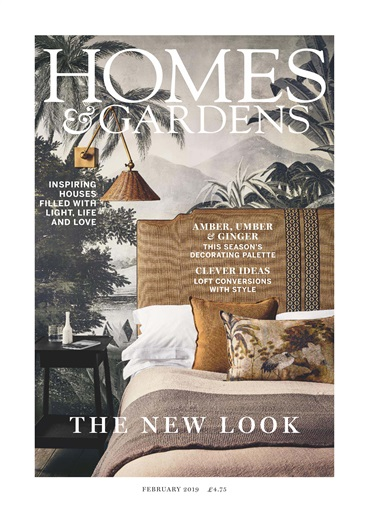Homes & Gardens Magazine - February 2019 Subscriptions ...