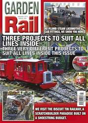 Garden Rail Magazine Cover