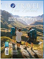 Go Travel NZ Magazine Cover