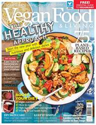 Vegan Food & Living Magazine Magazine Cover