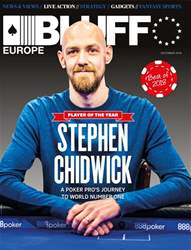 Bluff Europe Magazine Cover