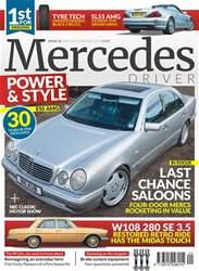 Mercedes Driver Magazine Magazine Cover