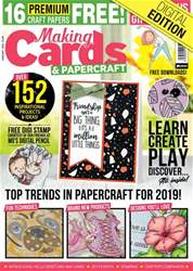 Making Cards & Papercraft Magazine Cover