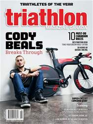 Triathlon Magazine Canada Magazine Cover