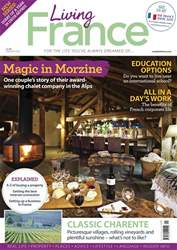 Living France Magazine Cover