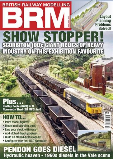 British Railway Modelling Magazine Feb 2019 Subscriptions Pocketmags