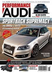 Performance Audi Magazine Magazine Cover