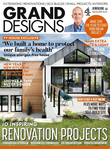 Grand Designs Magazine February 2019 Subscriptions Pocketmags