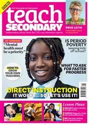 Teach Secondary Magazine Cover