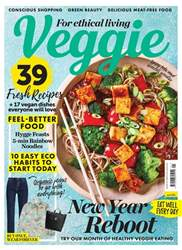 Veggie Magazine Magazine Cover