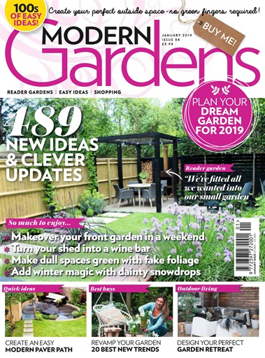 Modern Gardens Magazine January 2019 Subscriptions Pocketmags