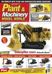 Plant & Machinery Model World Magazine Cover