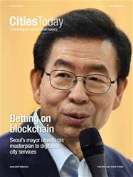 Cities Today Magazine Cover