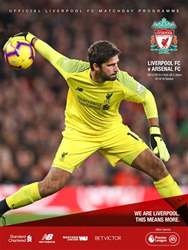 Liverpool FC Programmes Magazine Cover