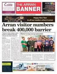 Arran Banner Magazine Cover