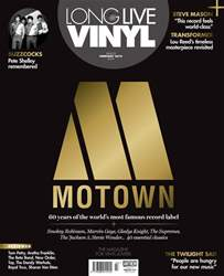 Long Live Vinyl Magazine Cover