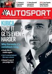 Autosport Magazine Cover