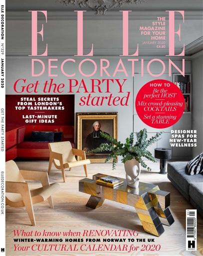 Elle Decoration Magazine Jan 2020 Subscriptions Pocketmags