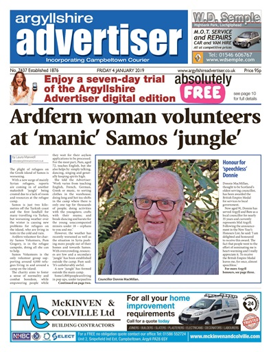 Argyllshire Advertiser Digital Issue