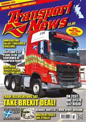 Transport News Magazine Cover