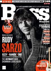Bass Guitar Magazine Cover
