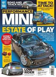 Performance Mini Magazine Cover