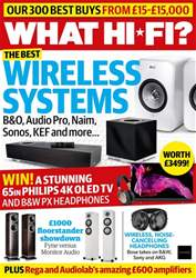 What HiFi Magazine Cover