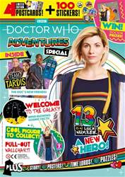 Doctor Who Adventures Magazine Magazine Cover