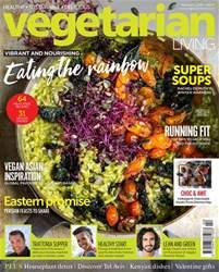 Vegetarian Living Magazine Cover