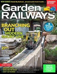 Garden Railways Magazine Cover