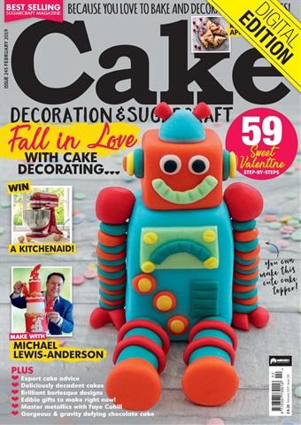 Cake Decoration & Sugarcraft Magazine Preview 1
